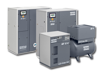 Oil Free Compressors -  Scroll Compressors