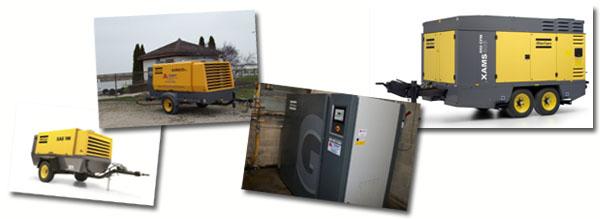 Air Compressor Service - Rentals